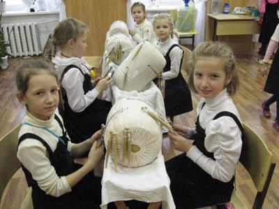 Занятия вгруппе первоклассников 2009—2010 уч. г.